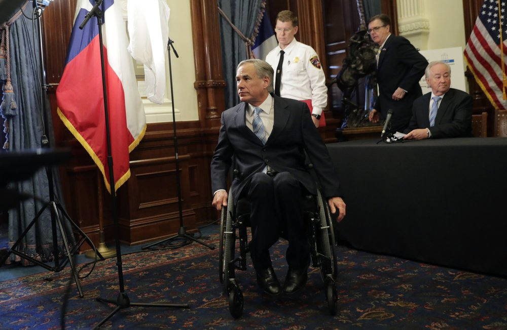 Word of the sudden outbreak at Paris Healthcare Center has Governor Greg Abbott of Texas and others taking a piecemeal approach to rolling back restrictions