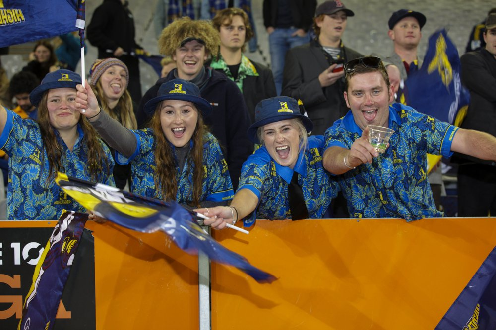 """Craziness,"" is how 20-year-old student Charlotte Power described the scene as fans expressed themselves at the return of stadium sport in virus-free New Zealand"