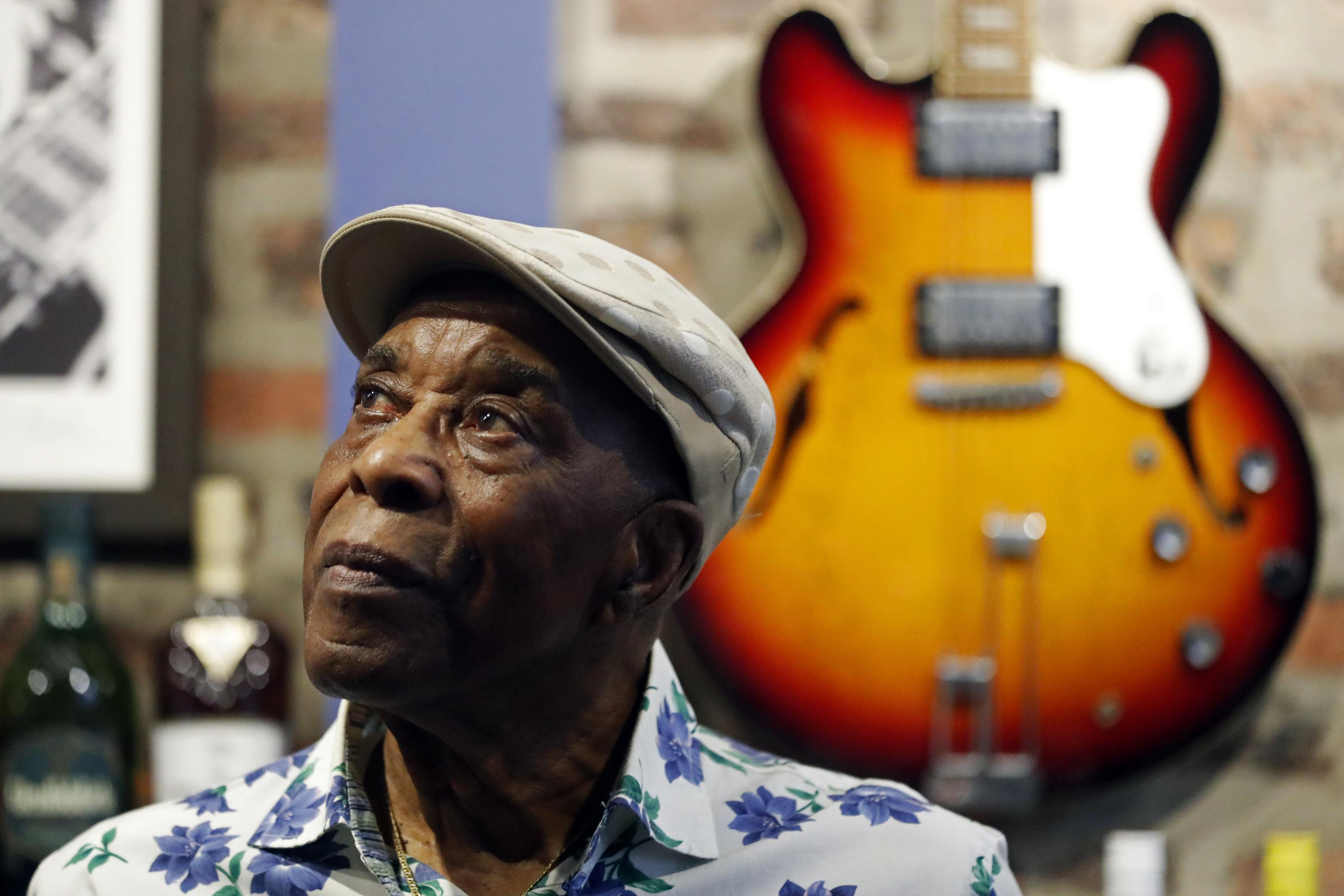 Blues guitar legend Buddy Guy looks back on a special career