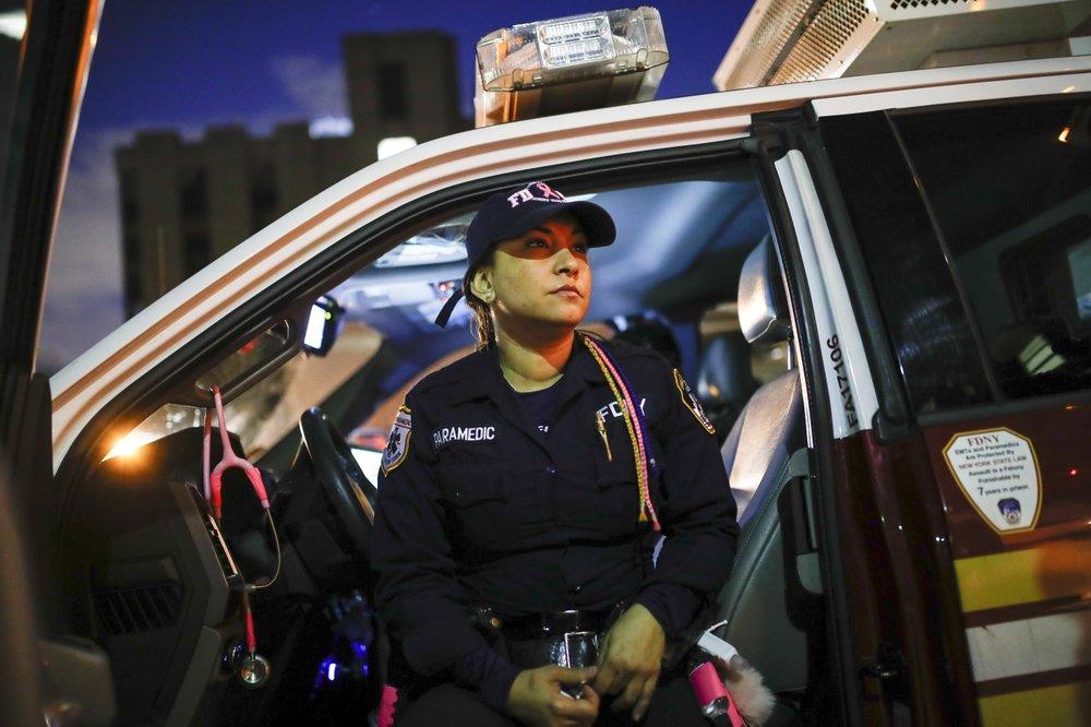 Paramedics like Elizabeth Bonilla face challenges like no other