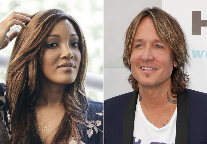 Country stars Mickey Guyton, Keith Urban to host Academy of Country Music Awards