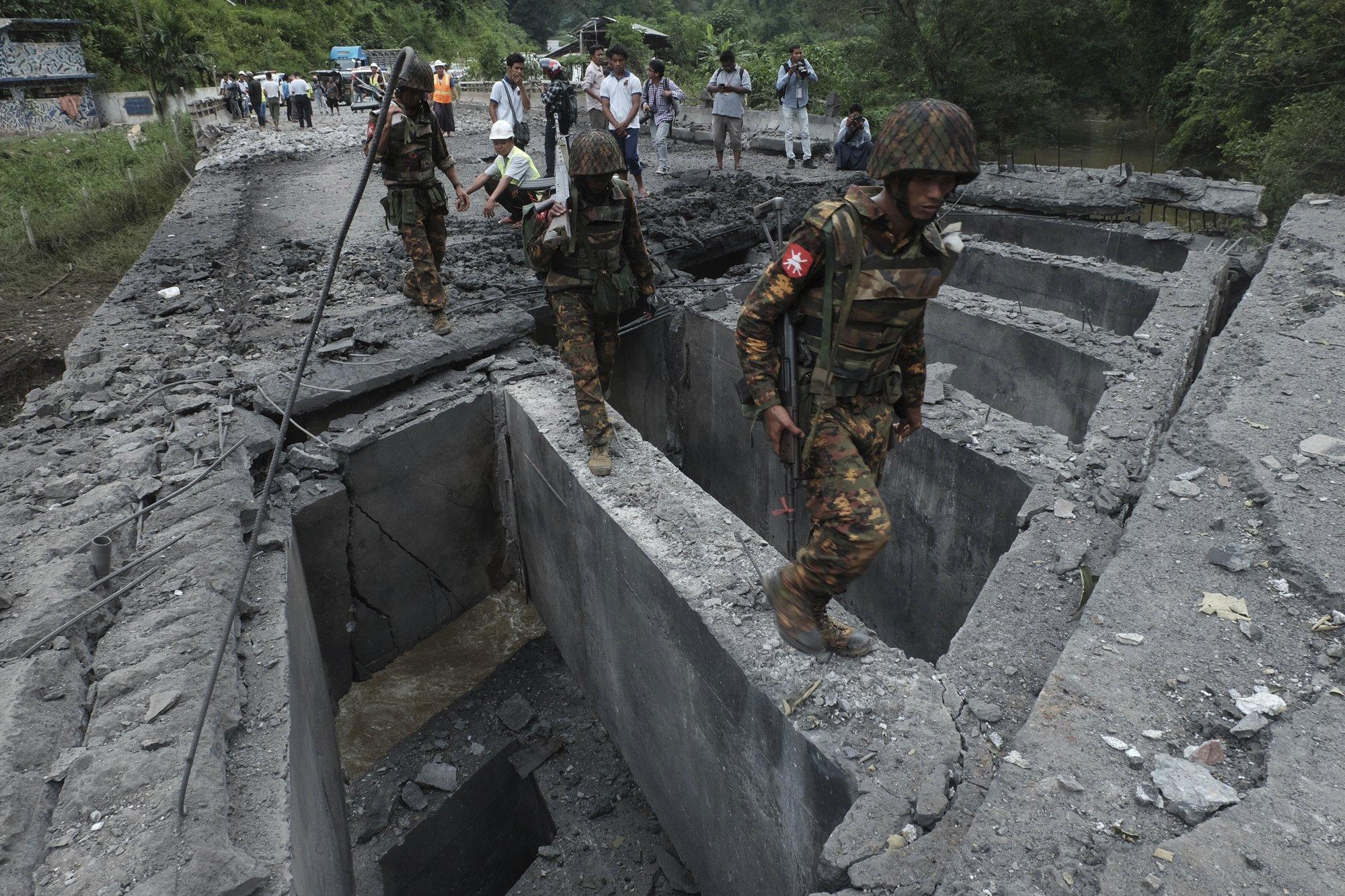 Myanmar ethnic rebel alliance makes coordinated attacks