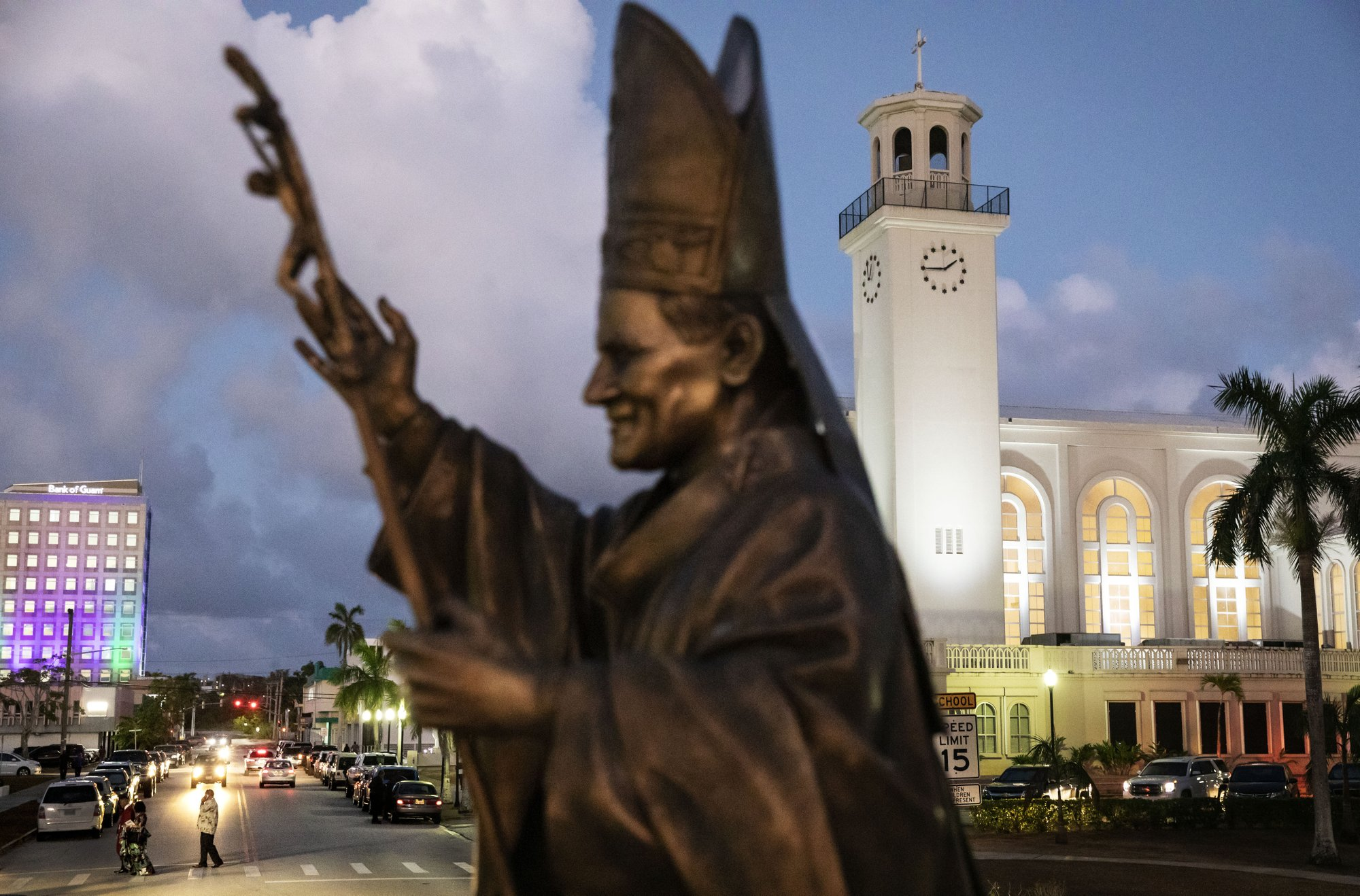 Catholicism ingrained in daily life on US island of Guam