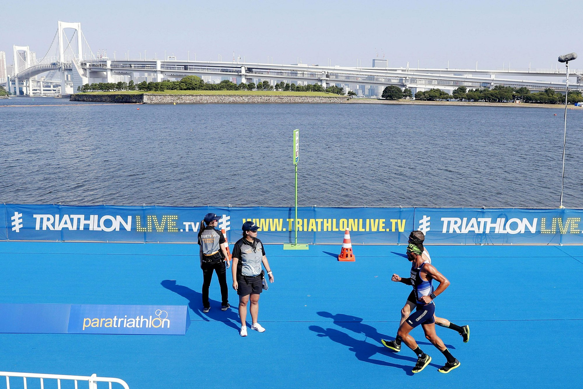 High bacteria level cancels water portion of Tokyo triathlon