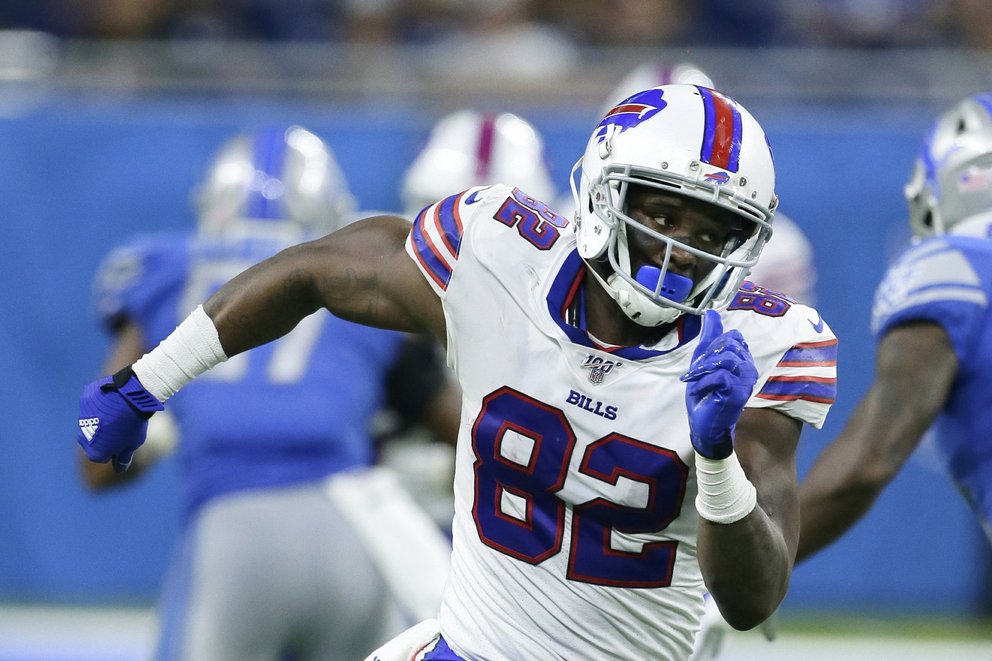 Receiver Duke Williams revives career with Bills