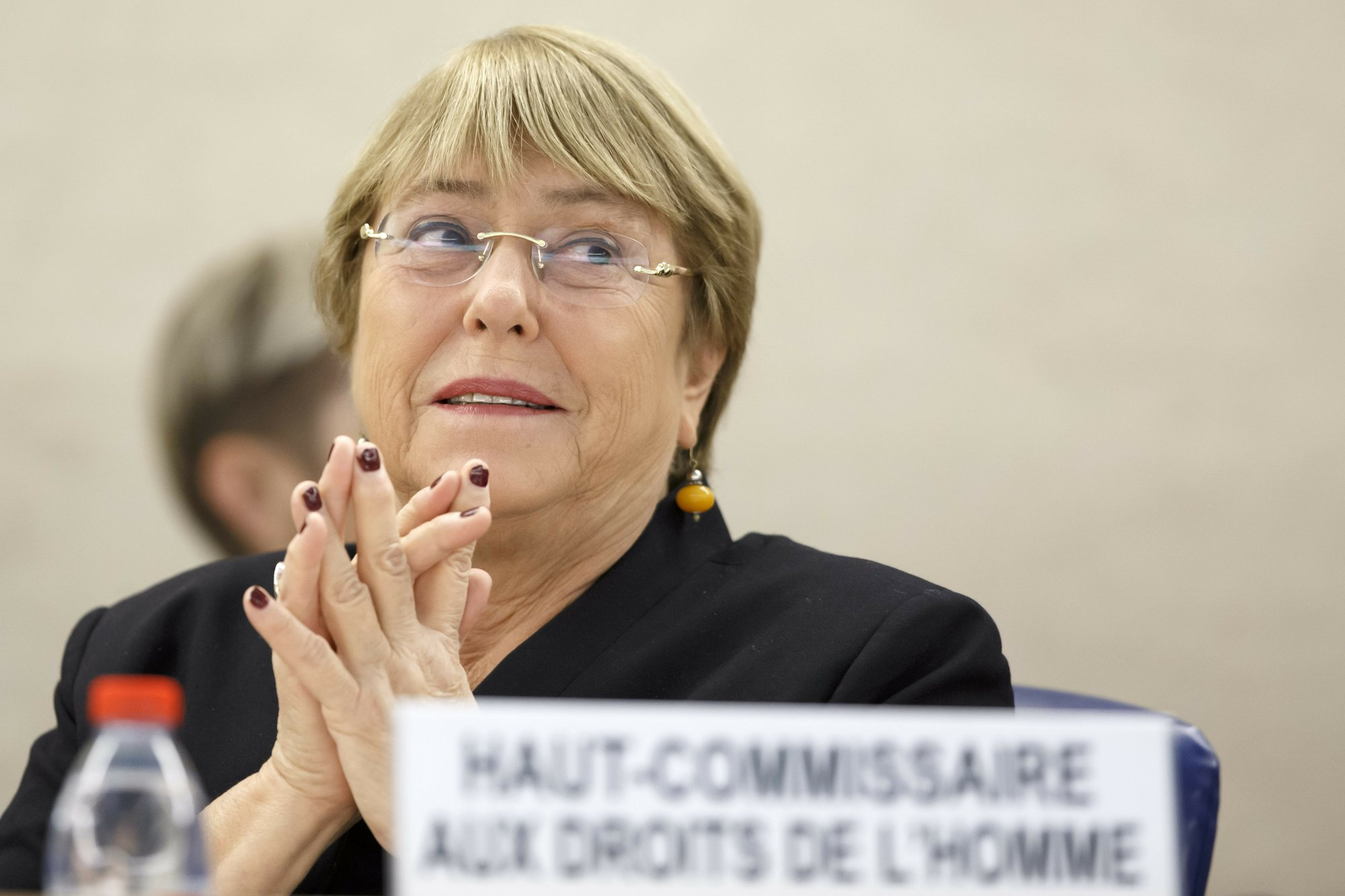 UN human rights chief cites continued abuses in Venezuela