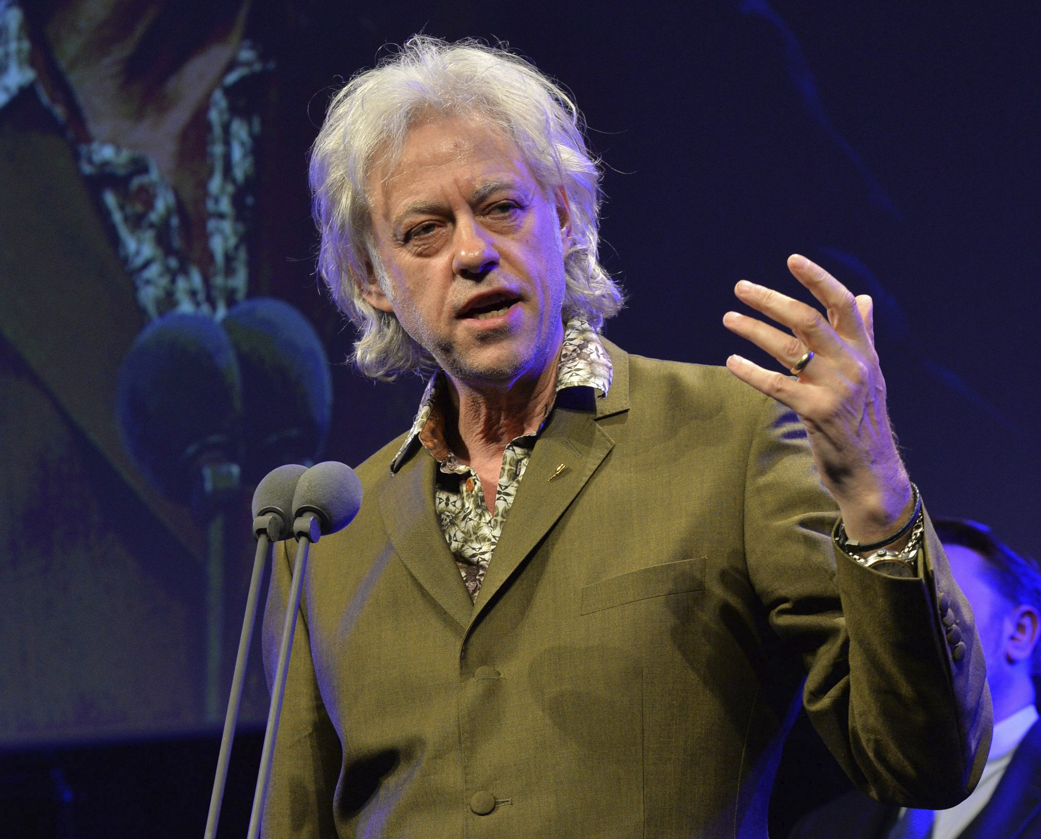 35 years after Live Aid, Bob Geldof assesses personal toll