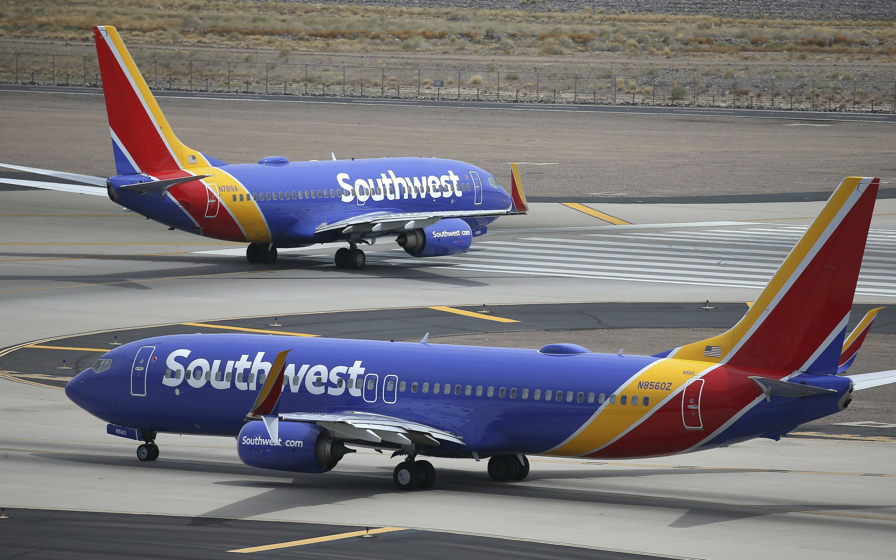 Southwest pulling out of Newark airport, groundings cited