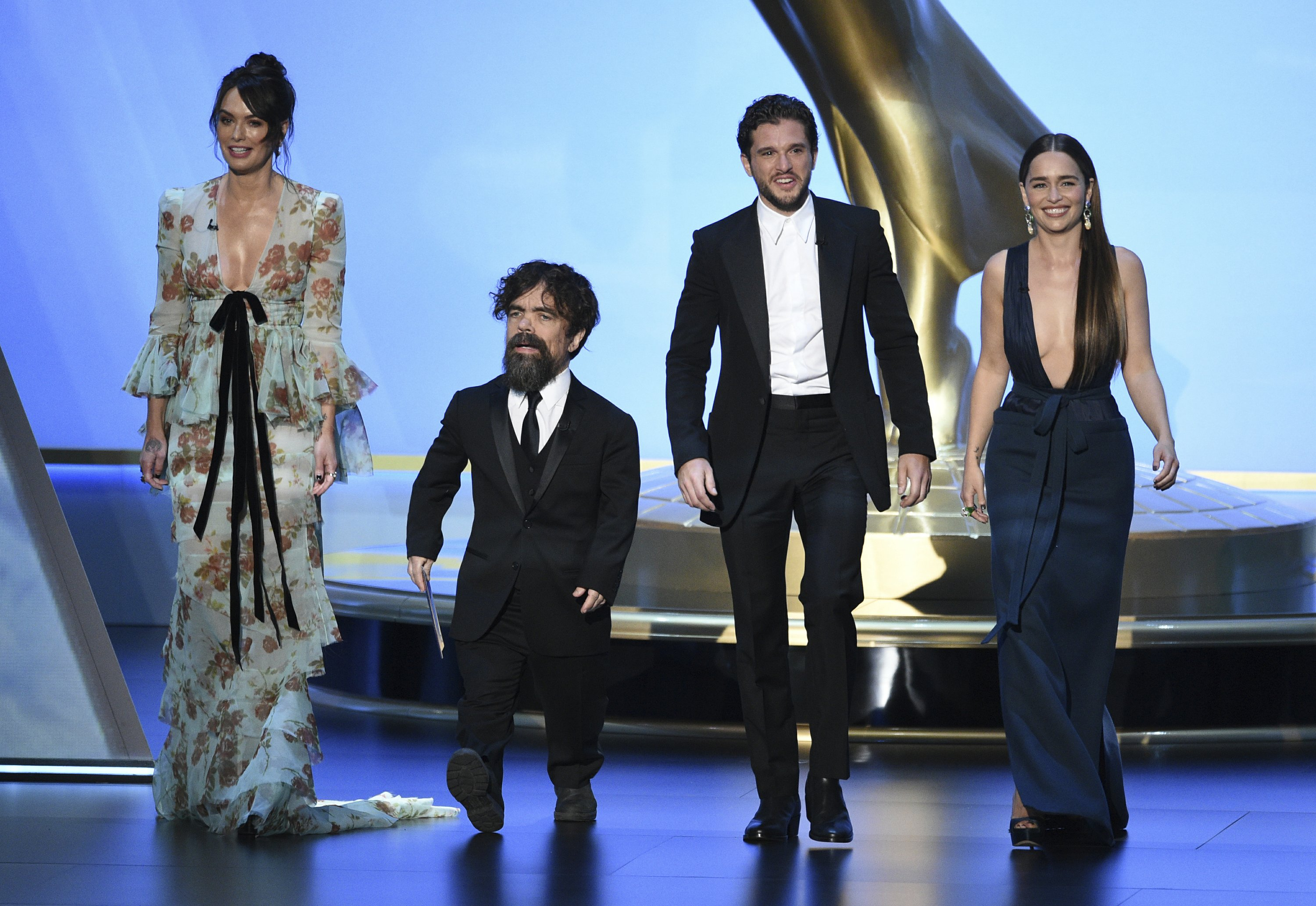 "The Latest: ""Game of Thrones"" wins fourth best drama Emmy"