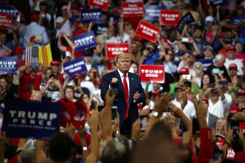 Trump Budget Would Abandon Public >> Ap Fact Check Trump S Boasts Blasts And Promises At Rally