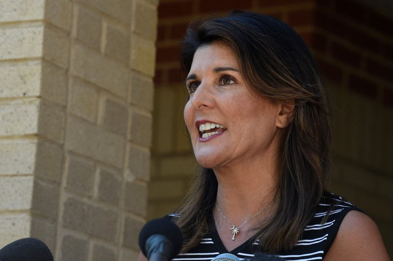 AP – Nikki Haley says she'll back Trump, stand down if he runs in 2024