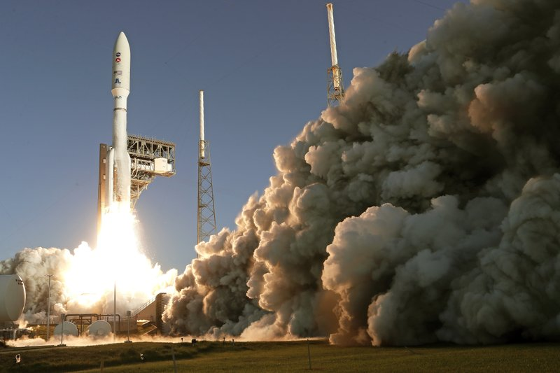NASA launches Perseverance rover to Mars