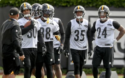 8e6bdaad751 Life after Le'Veon: Steelers RB trio ready to forge own path