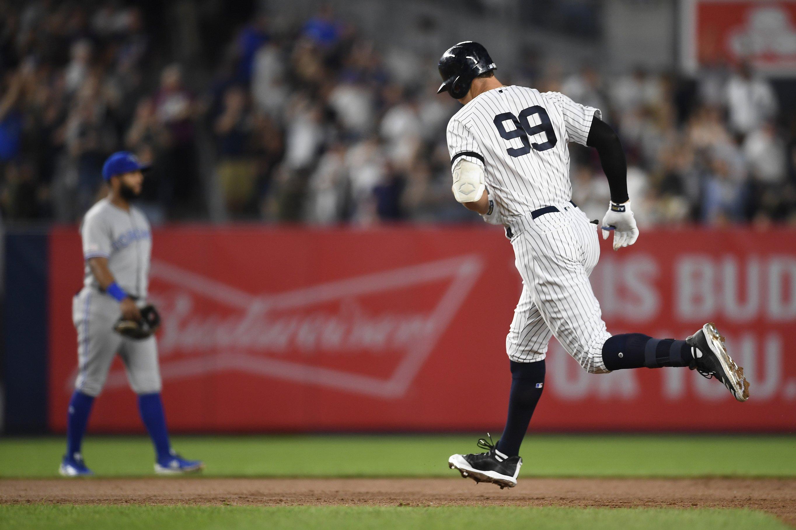 Judge 3-peats as top MLB jersey seller; Harper second