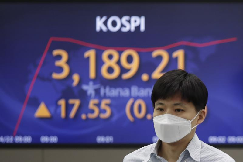 Asian shares higher after advance on Wall Street led by technology companies