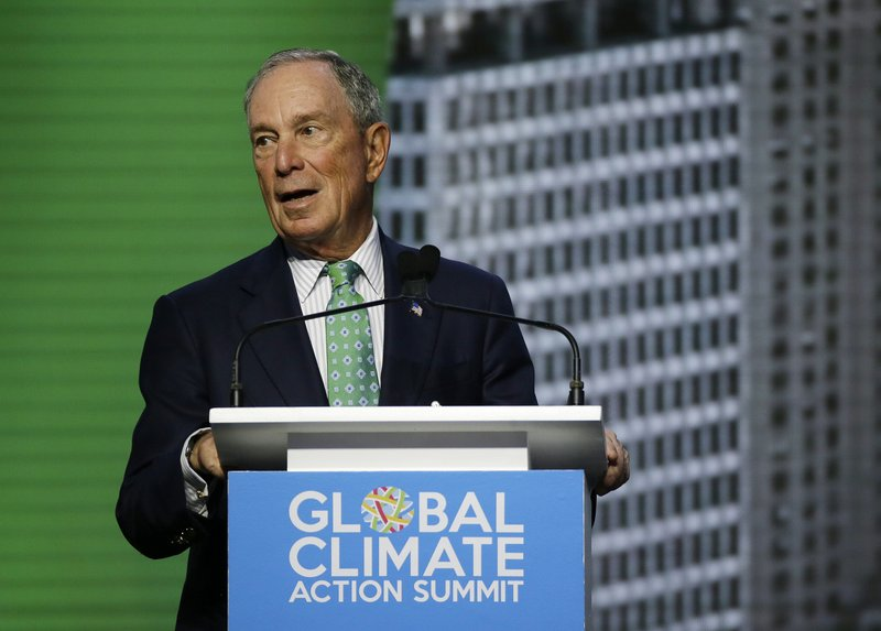 Michael Bloomberg reappointed as climate envoy