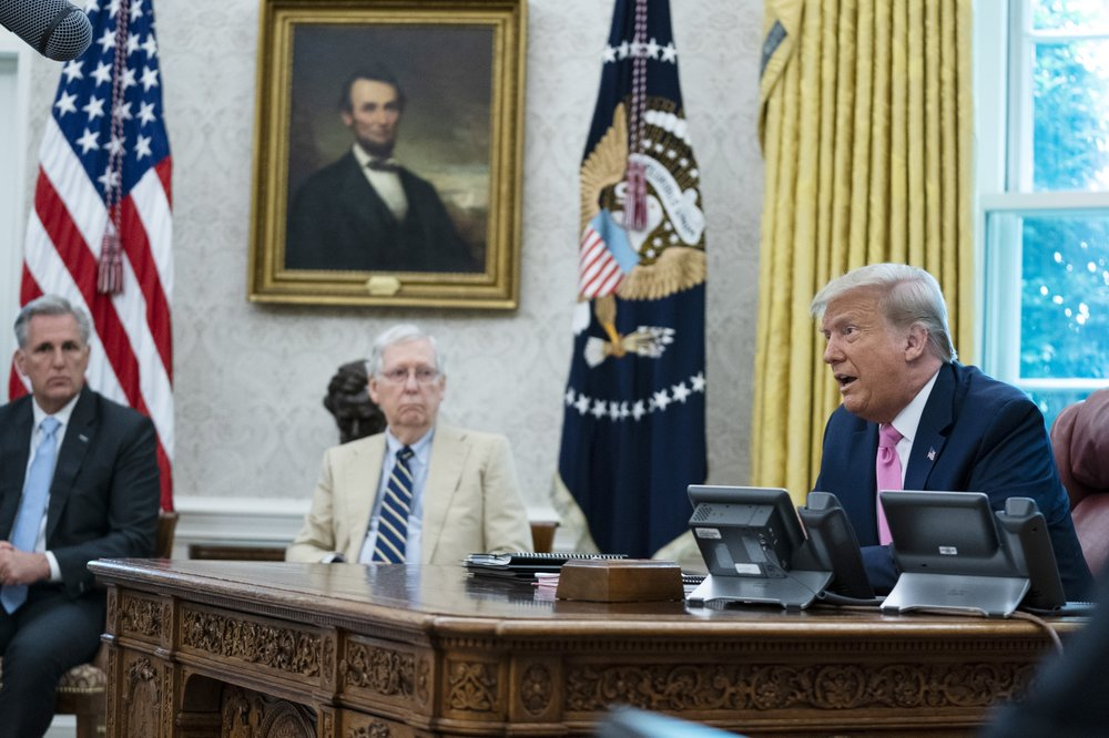 President Donald Trump signed memorandum to bar people in the U.S. illegally from being counted in congressional reapportionment, receives immediate criticism
