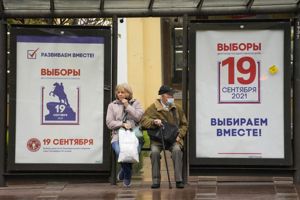 Russia Votes in Parliament Election Without Main Opposition