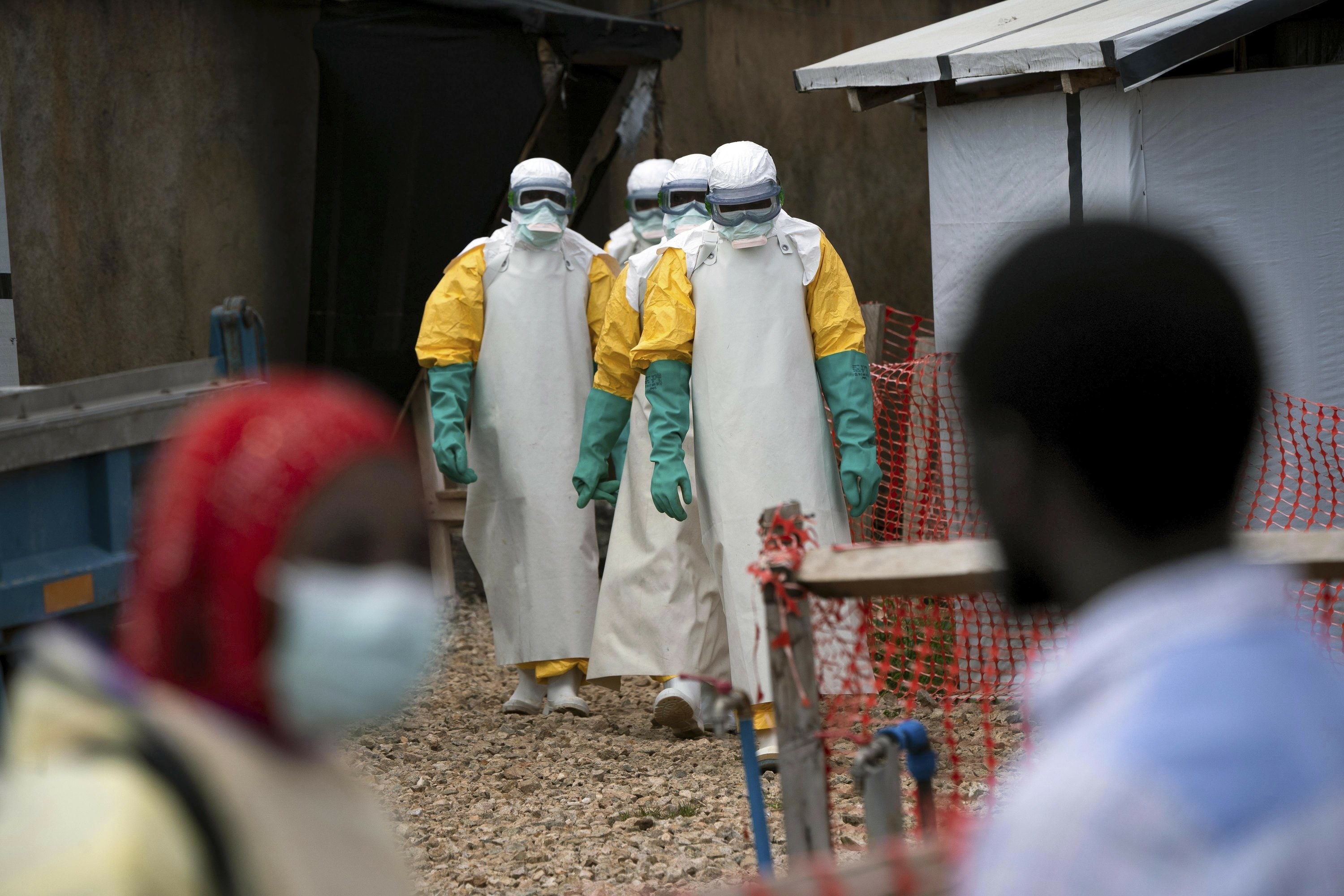 AP Photos: The struggle against Ebola in eastern Congo