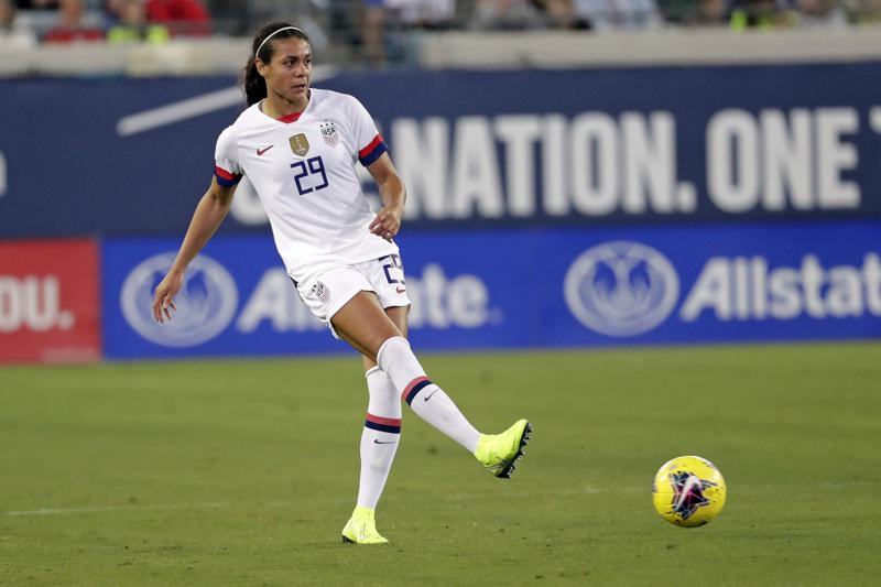 American defender Alana Cook earning her stripes at Paris Saint-Germain against Barcelona