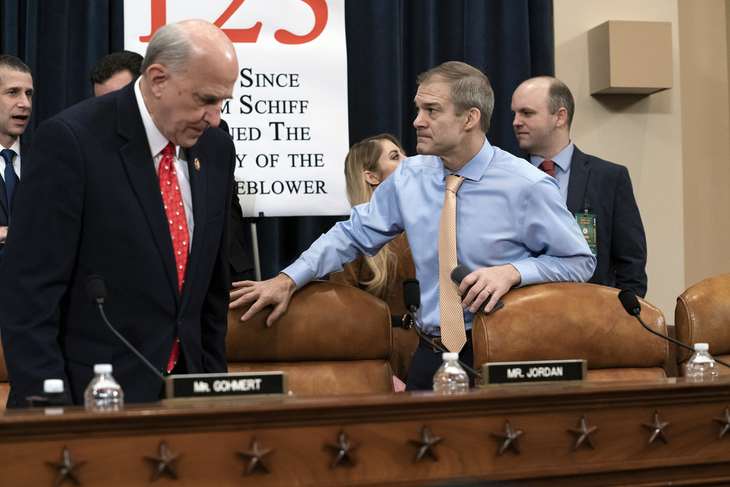 Icy silence, frayed connections: Impeachment takes a toll