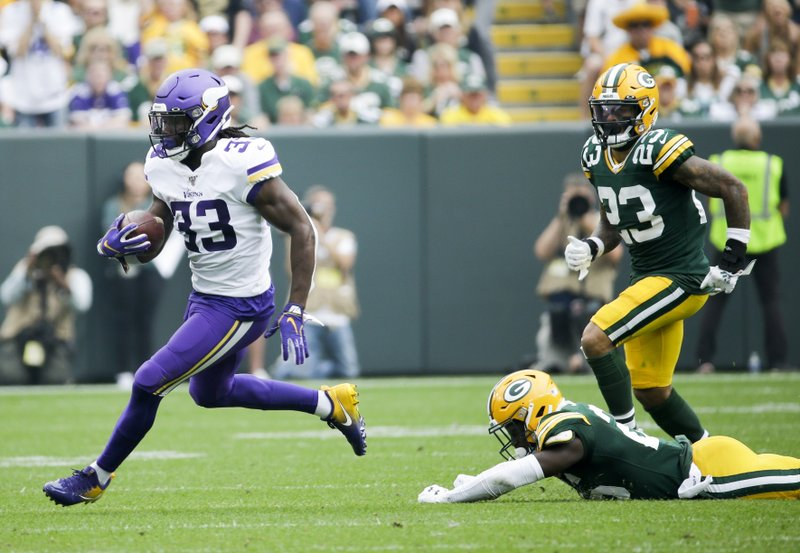 Cook Sets Career Rushing High In Vikings Loss To Packers