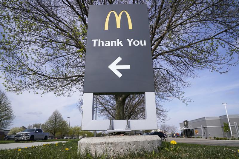 McDonald's makes a come-back as coronavirus restrictions ease