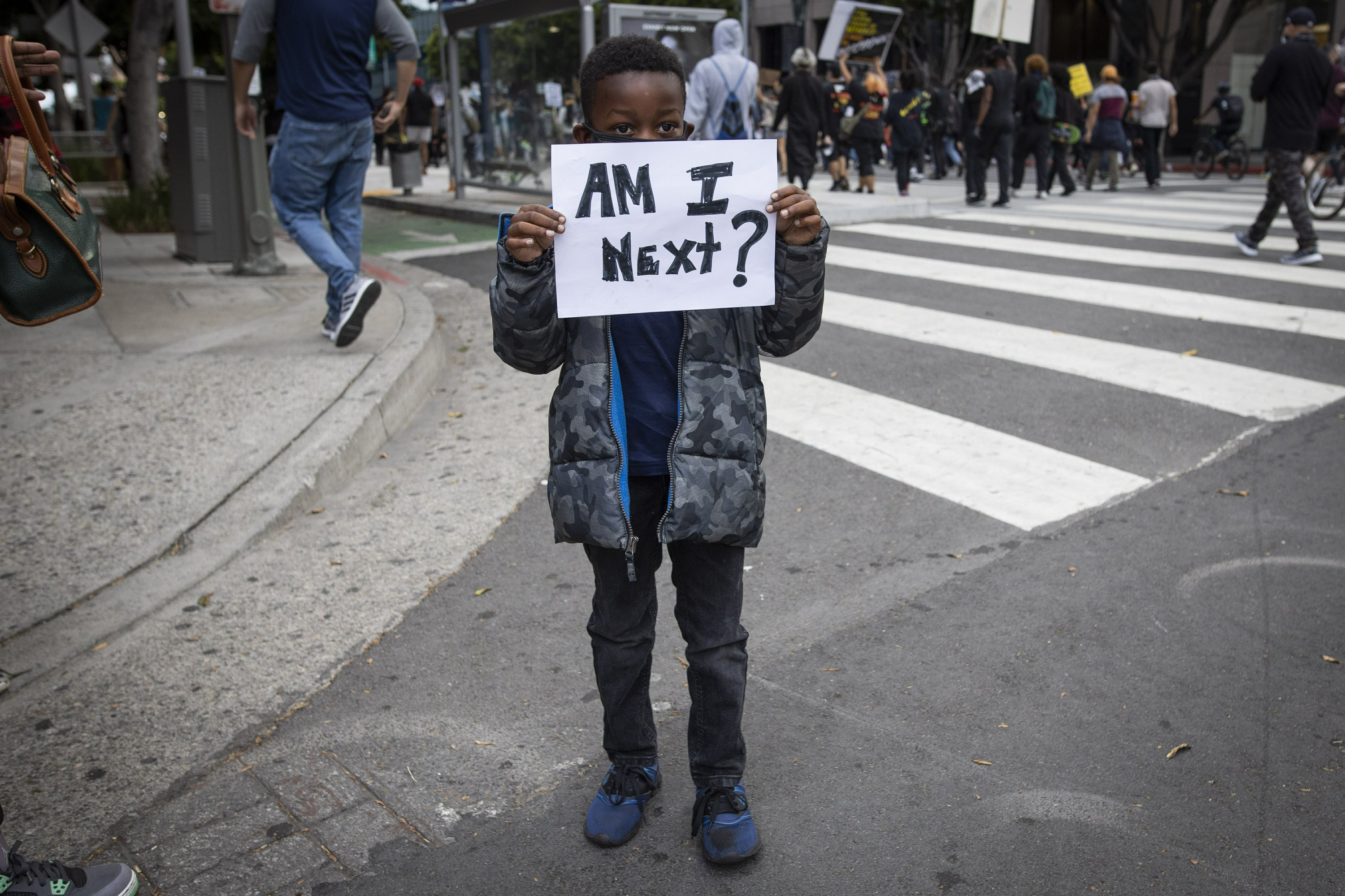 AMERICAN DIARY: To be black and a journalist at this moment