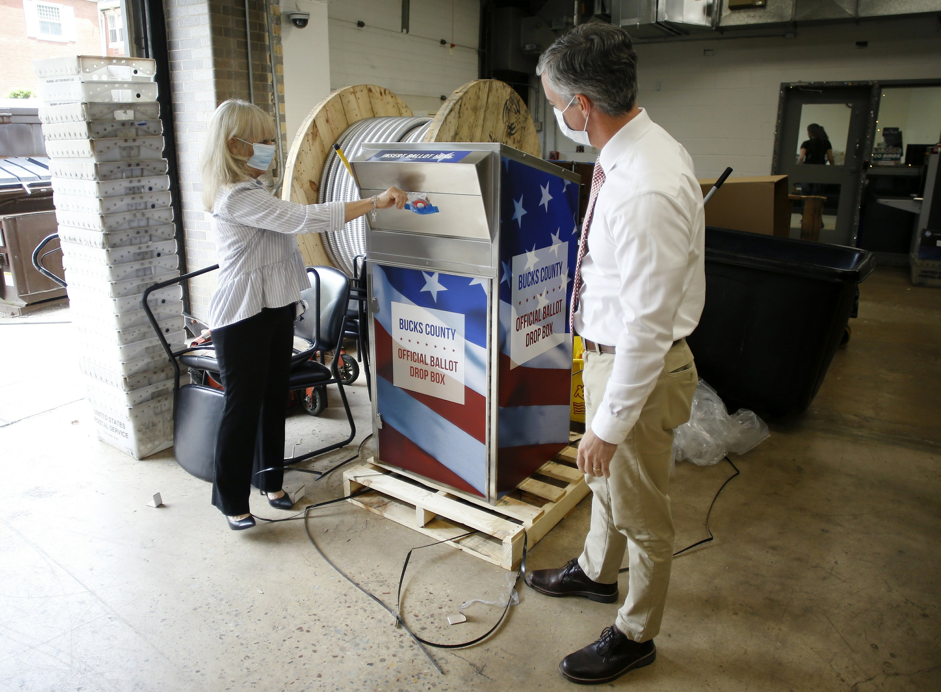 Ballot Drop Boxes Seen As A Way To Bypass The Post Office