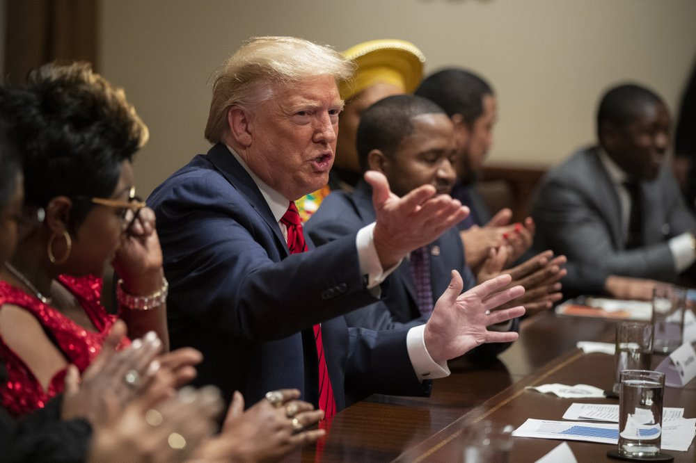 Trump Promises Equal Opportunity in Meeting With Black Supporters