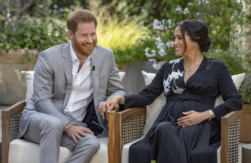 Daily Mail Survey Reveals Public's Anger at Harry and Meghan Interview With Oprah as Majority Say They Should be Stripped of Their Titles and Are an Embarrassment to the Royal Family