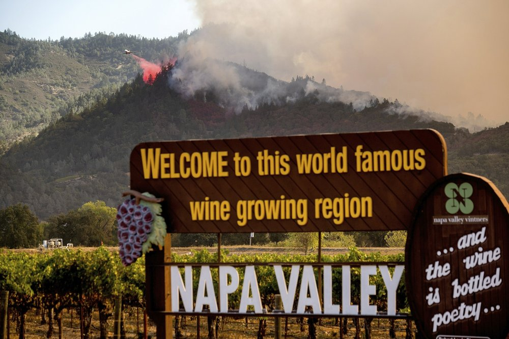 California wine country adjusting to annual wildfire threat