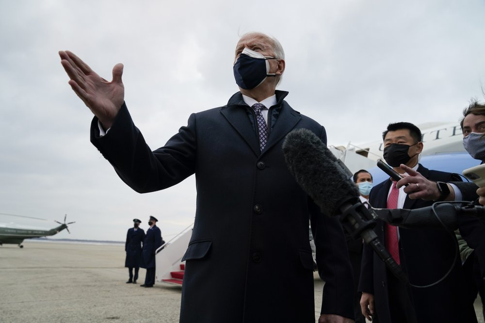 President Biden's disaster management skills tested by extreme weather conditions