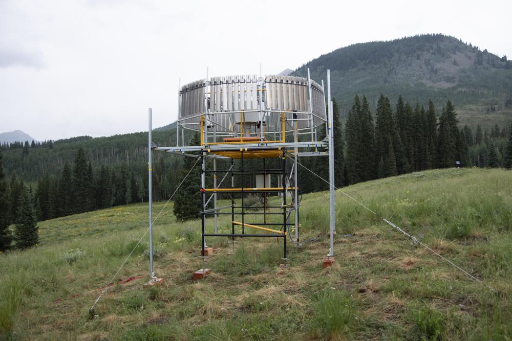 rain gauge | photo credit Lawrence Berkeley National Laboratory