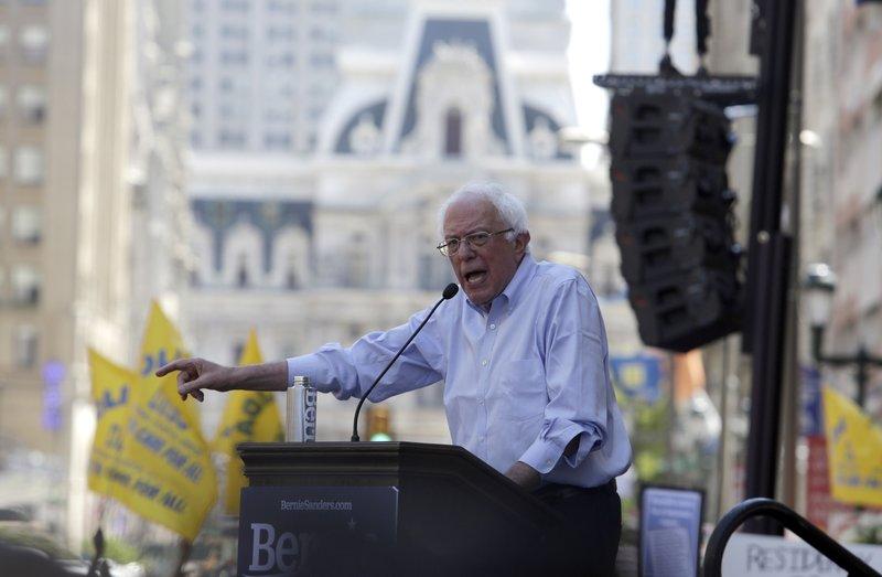 Philly hospital's plight spurs aid pledge, Sanders rally
