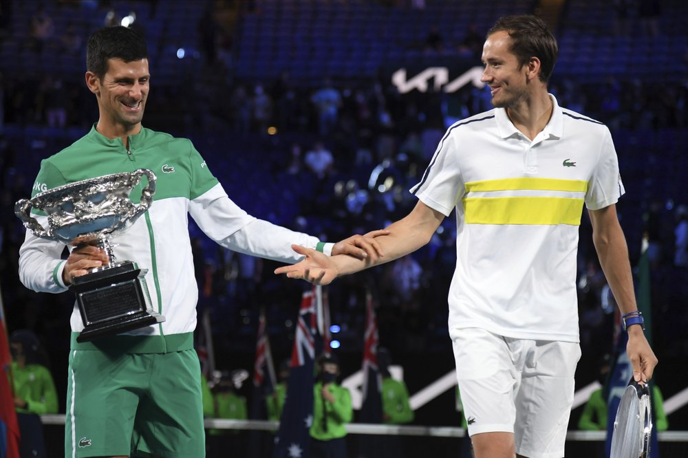 Daniil Medvedev recalls long-ago practice session with Novak Djokovic after losing to him in Australian Open final