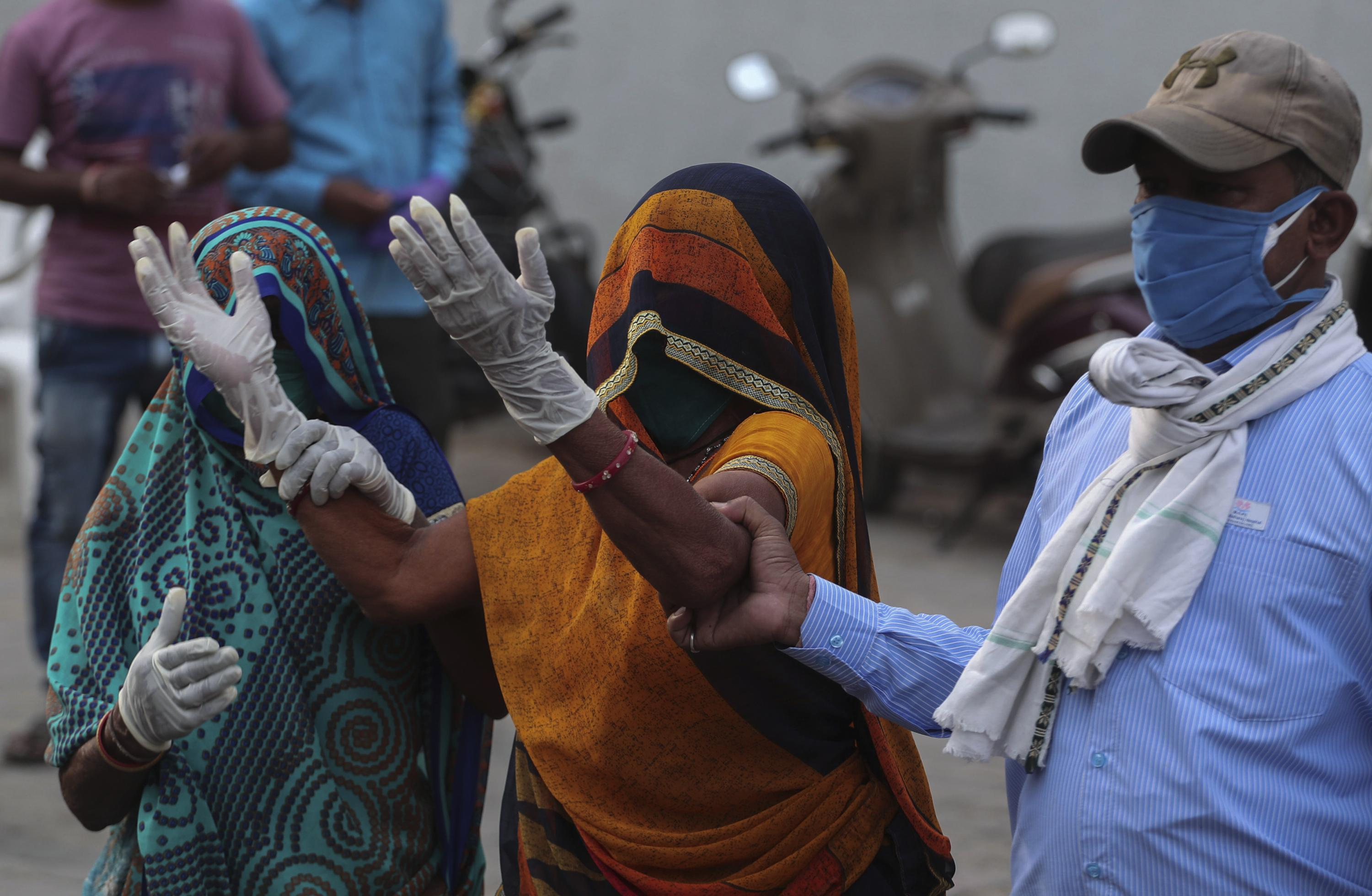 The Latest: S Korea to send medical items to help India