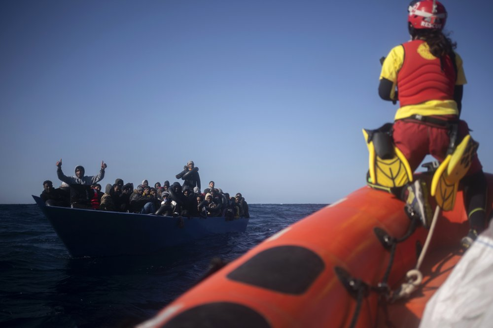 Spanish-flagged humanitarian ship rescues 265 migrants in Mediterranean