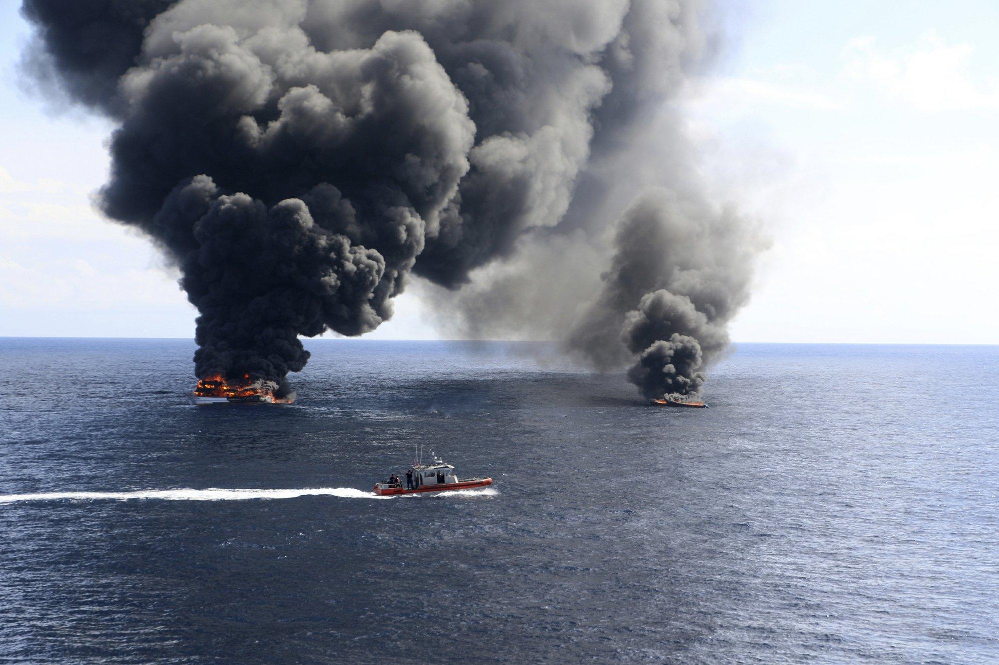 Coast Guard makes dramatic drug seizure, raiding submarine
