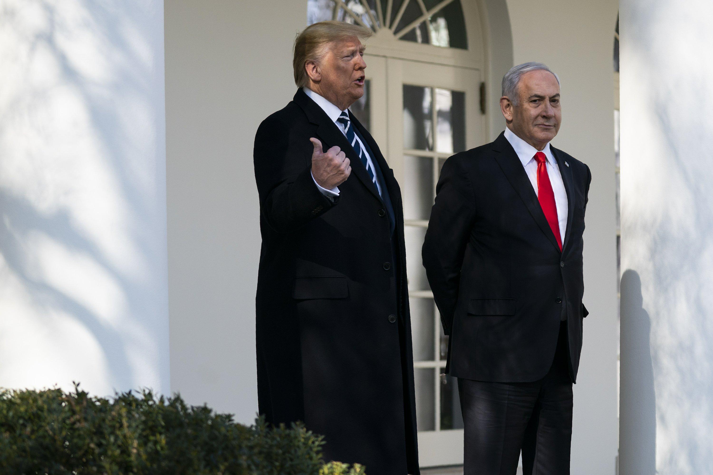 Trump presentará rechazado plan de paz para Israel y Palestina