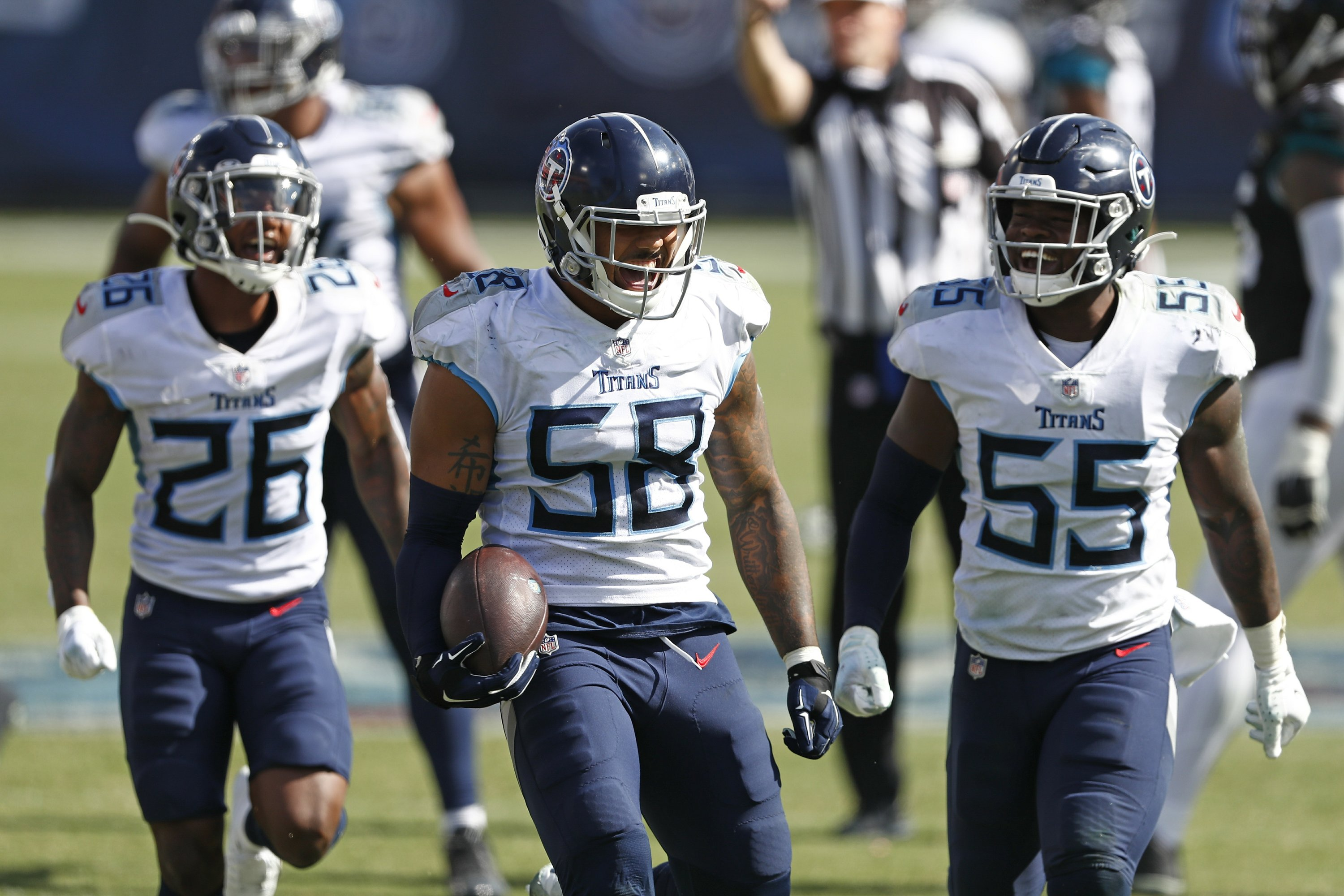 Happy at 1st 2-0 start since 2008, Titans see plenty to fix