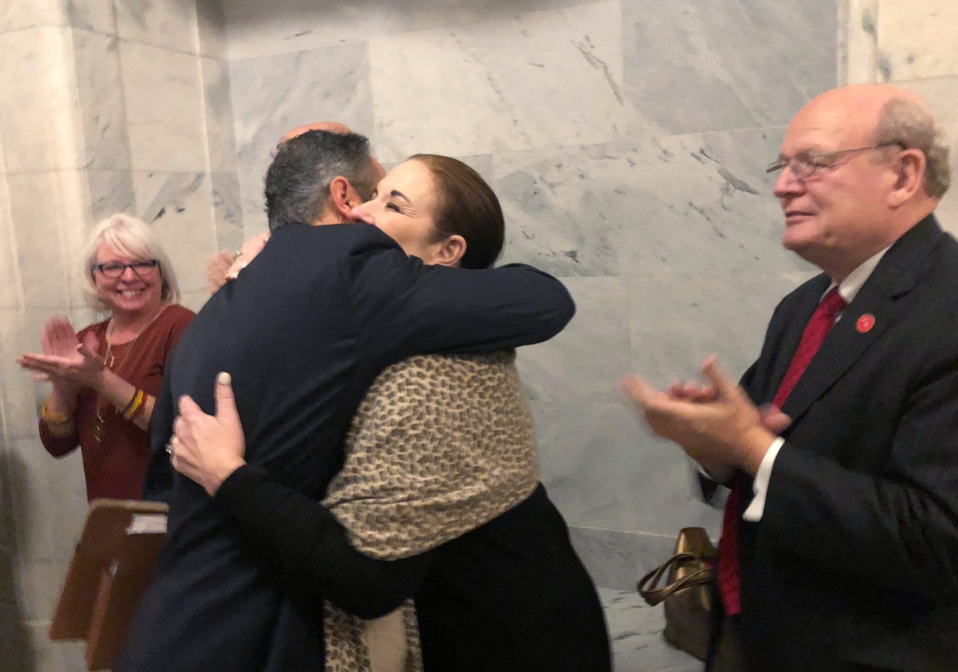 Kentucky governor touts accomplishments in farewell to staff