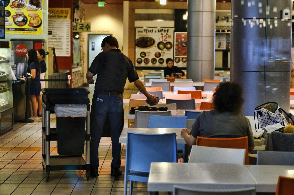 Restaurants in LA's Koreatown reel amid coronavirus rumor