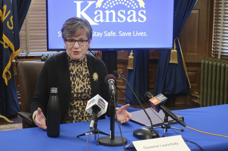 A federal judge believes  Kansas is violating religious freedom and free speech rights with a coronavirus-inspired 10-person limit on in-person attendance at religious services or activities; has   blocked its enforcement against two churches