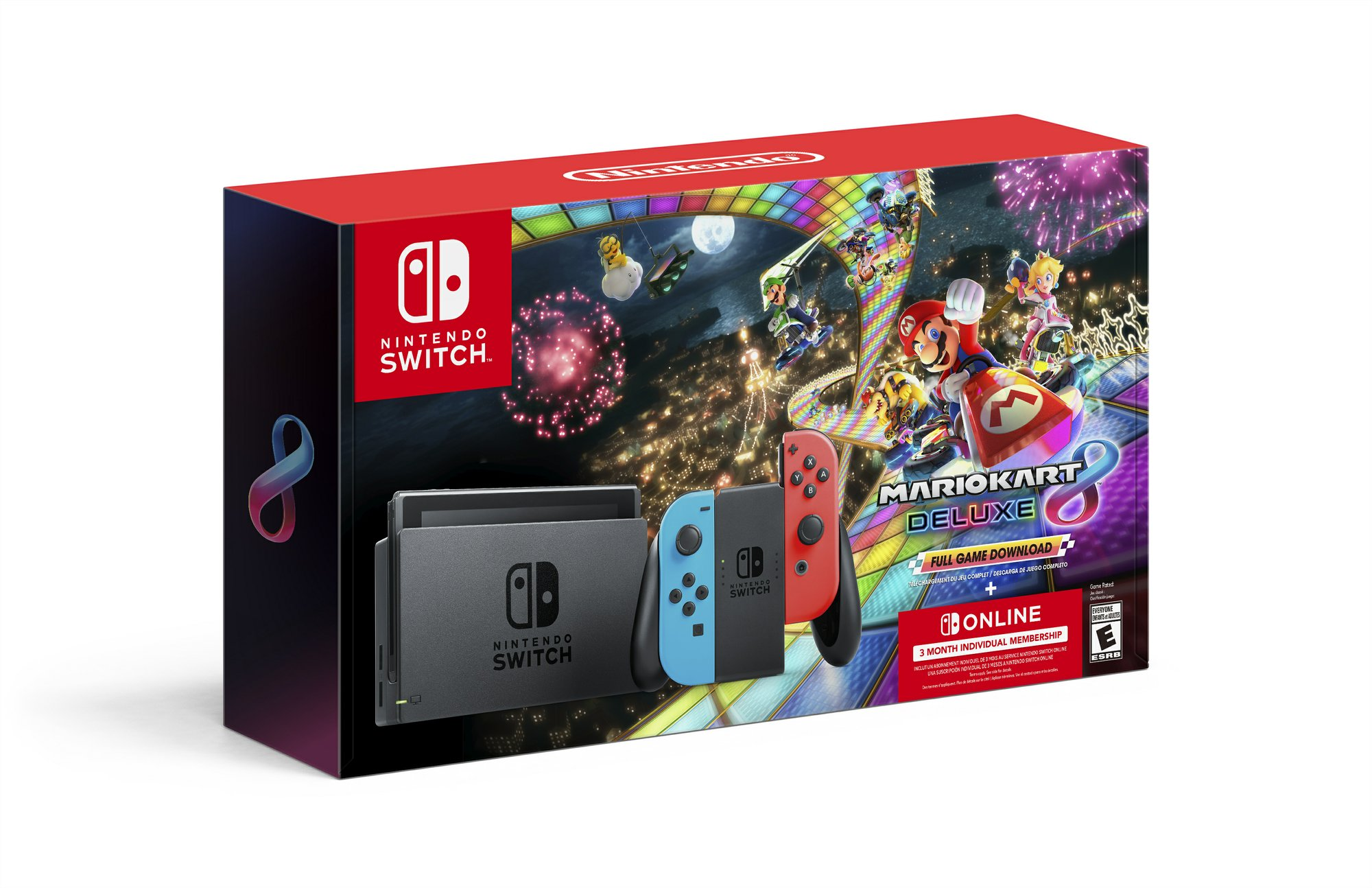 Nintendo Switch Bundle With Mario Kart 8 Deluxe And Nintendo Switch Online Membership Delivers A Black Friday Boost