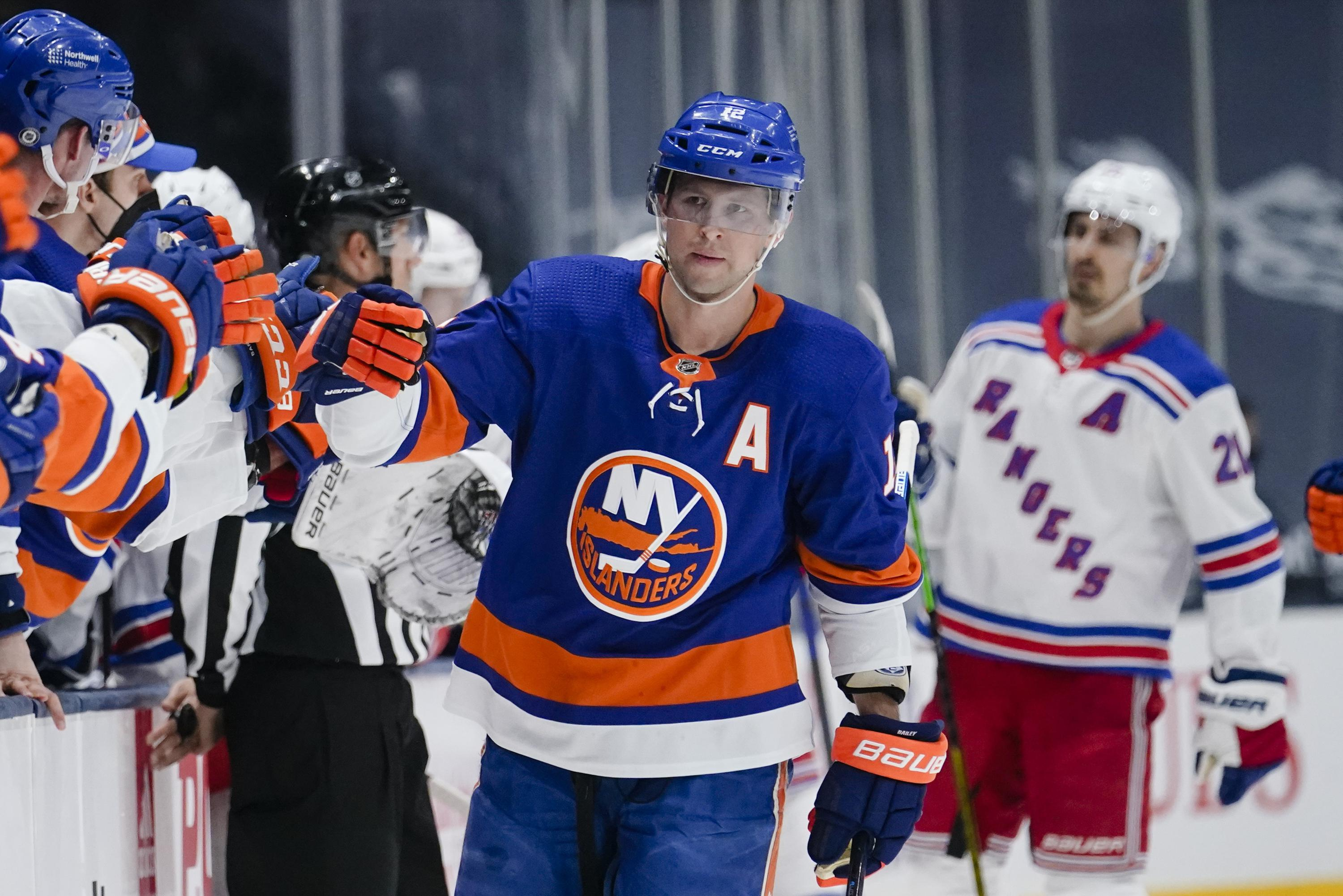 Bailey, Beauvillier lead Islanders to 6-1 win over Rangers