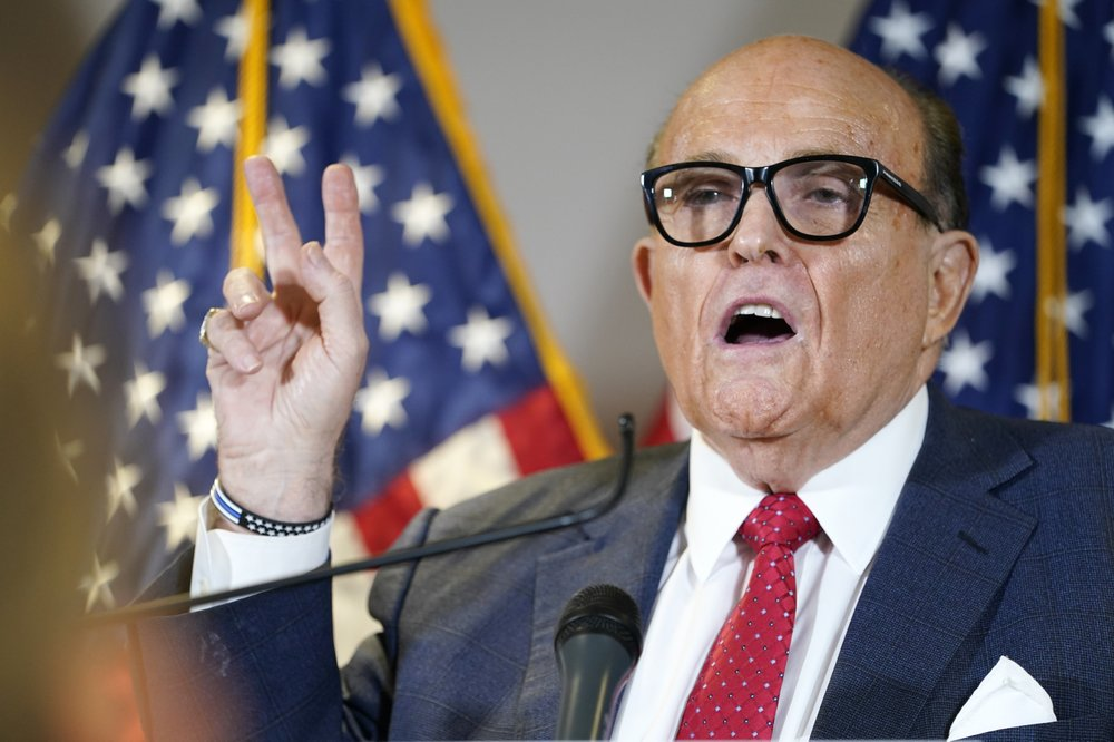 Rudy Giuliani hospitalized after positive COVID test