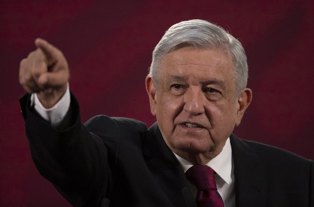 Mexican President Andrés Manuel López Obrador does no see the importance of wearing face masks during the pandemic