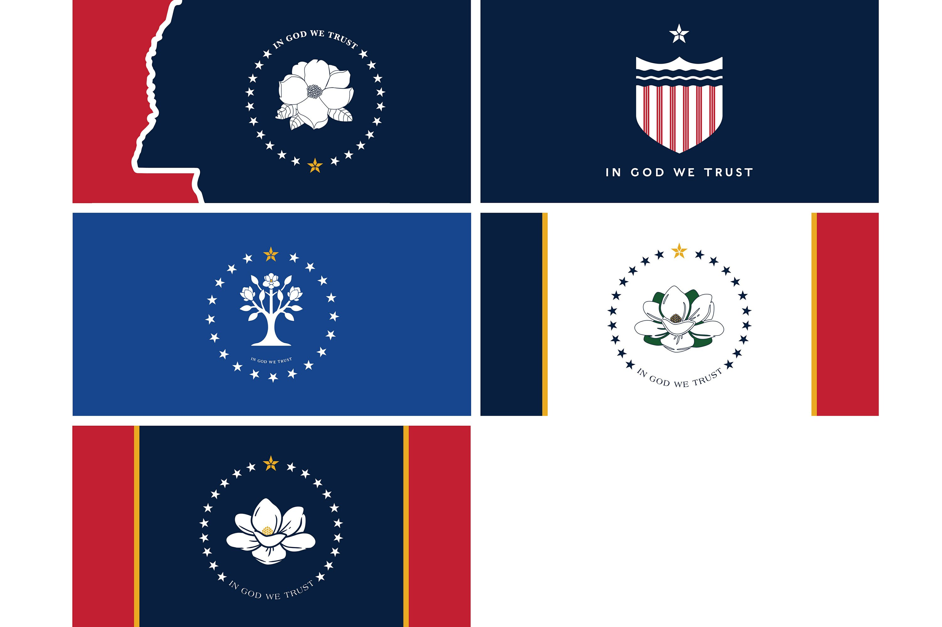 Mississippi Flag Designs Would They Make Good Tattoos