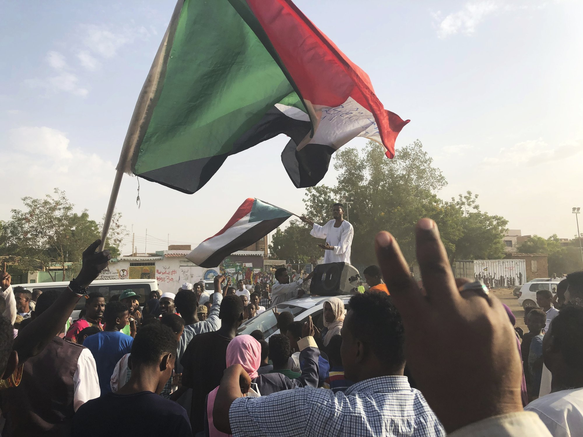 AU envoy: Sudan military, protesters to sign political deal